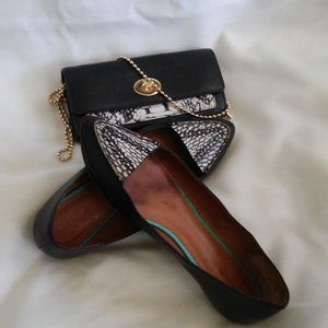 Coach Exotic Clutch and Shoes